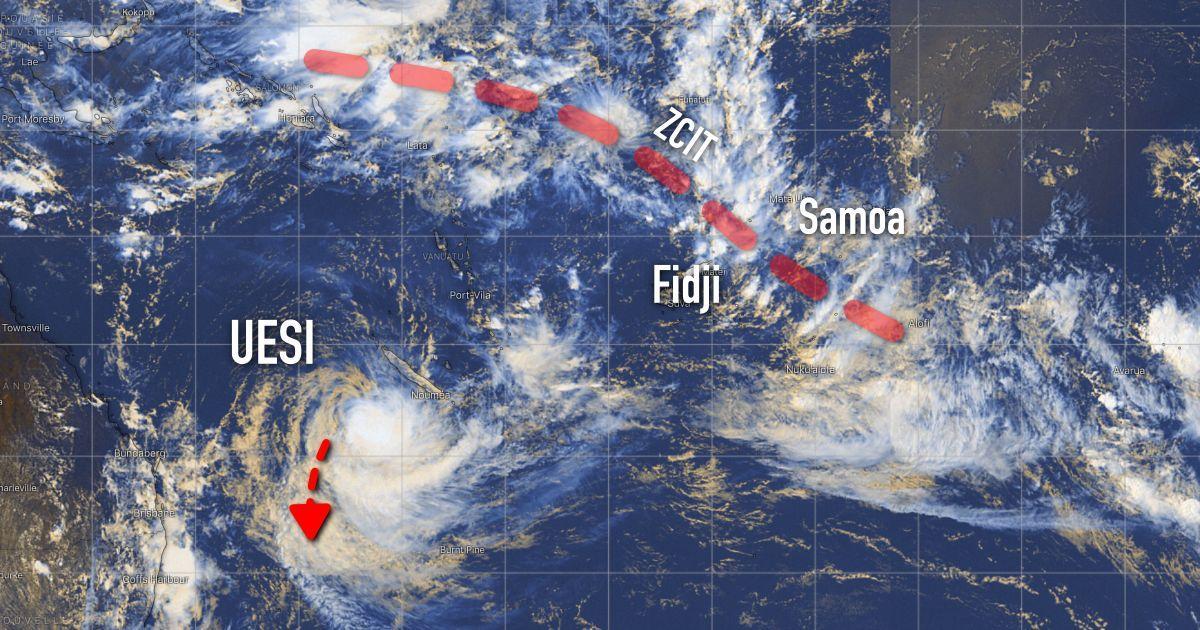 Pacifique activité cyclonique