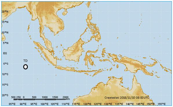 Dépression tropicale 04S