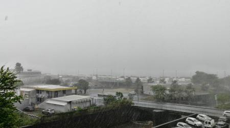 forte pluie à la réunion