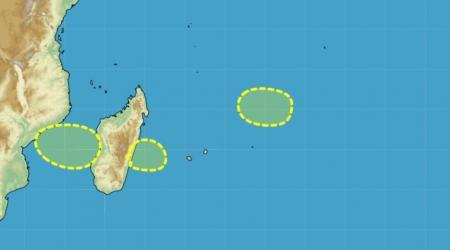 Point cyclogenese ocean indien 16 01 2021