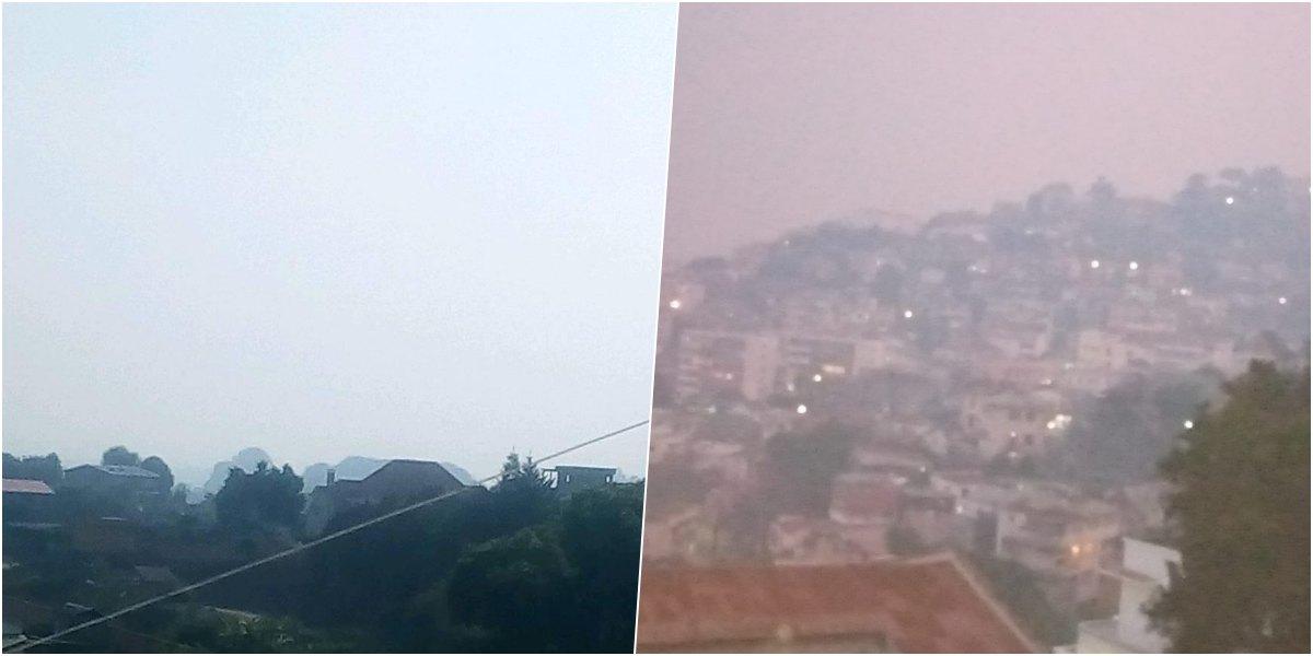 vague de chaleur et Pollution madagascar