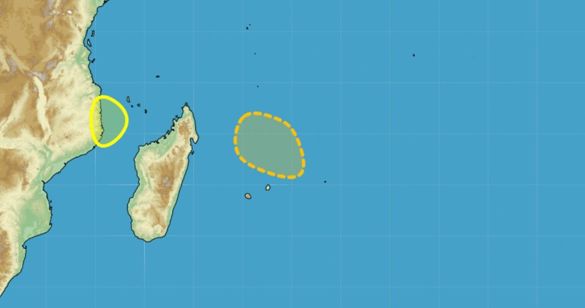 Possible cyclogene se au nord des mascareignes