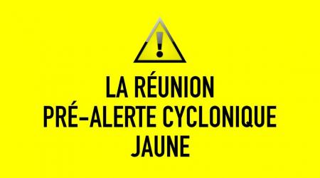 Pre alerte cyclonique la reunion