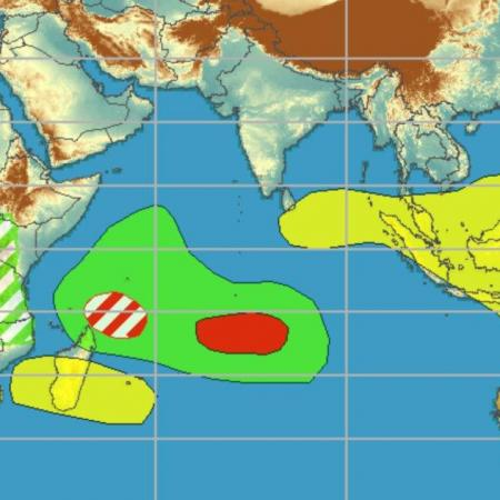 Prevision activité cyclonique ocean indien