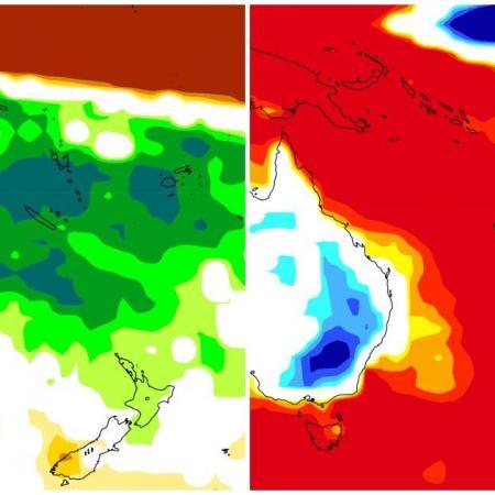 Prevision pluie temperature nouvelle caledonie 2020 2021