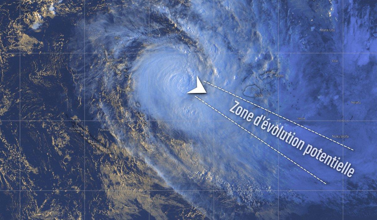 Prevision trajectoire harold