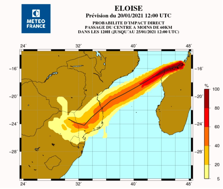 Probabilite kimpact mozambique cyclone eloise