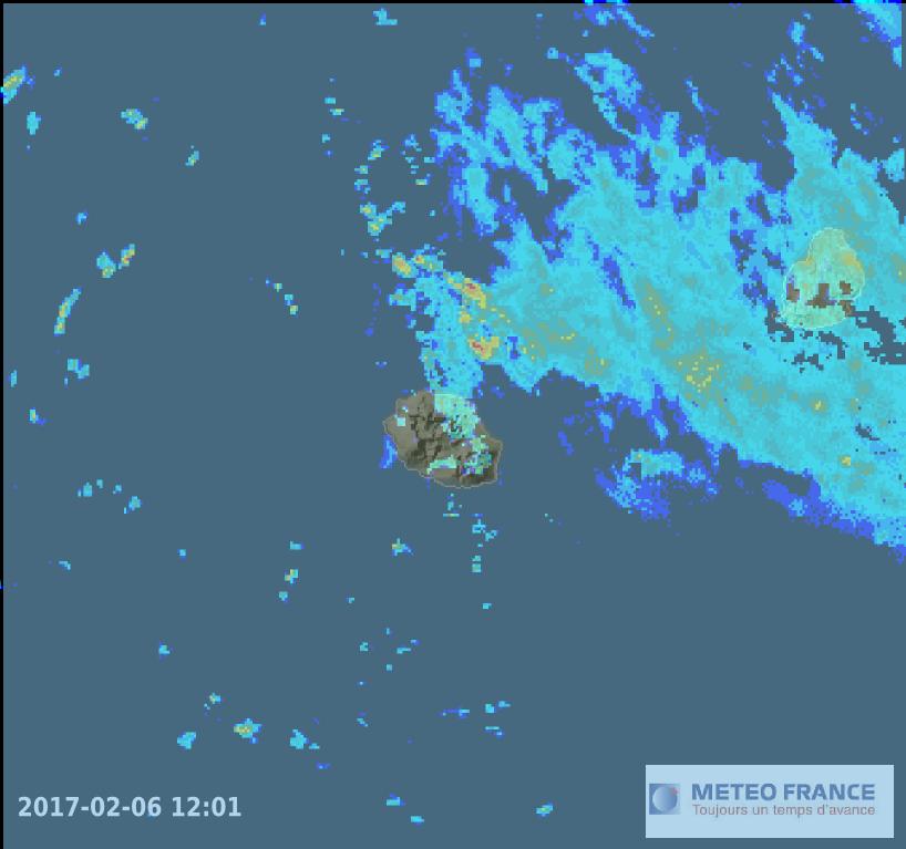 Image radar du jour à 12h