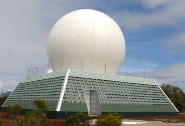 Radar de Piton Villers (image Météo France)