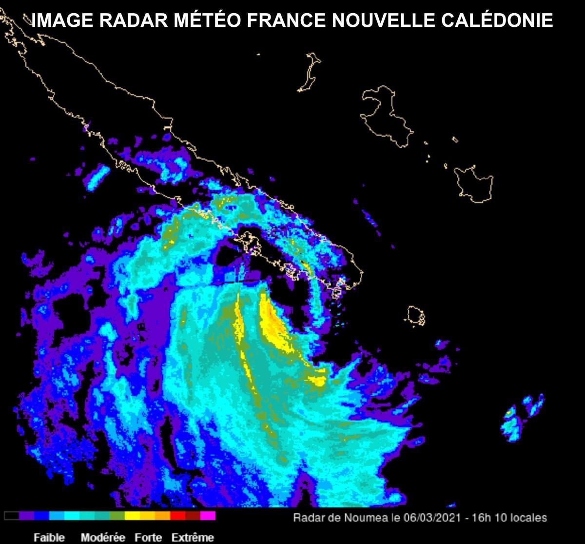 Radar noumea cyclone niran