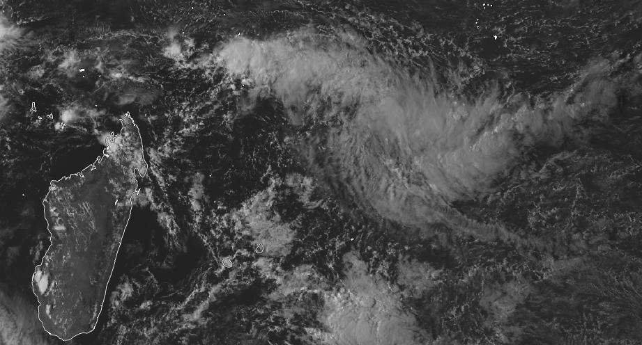 Image satellite océan indien sud-ouest le 26/03/2018 à 12z ©RealEarth