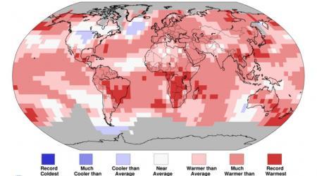 Record chaleur en juin