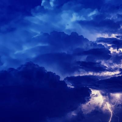 Retour des orages a la reunion