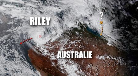 tempête tropicale RILEY
