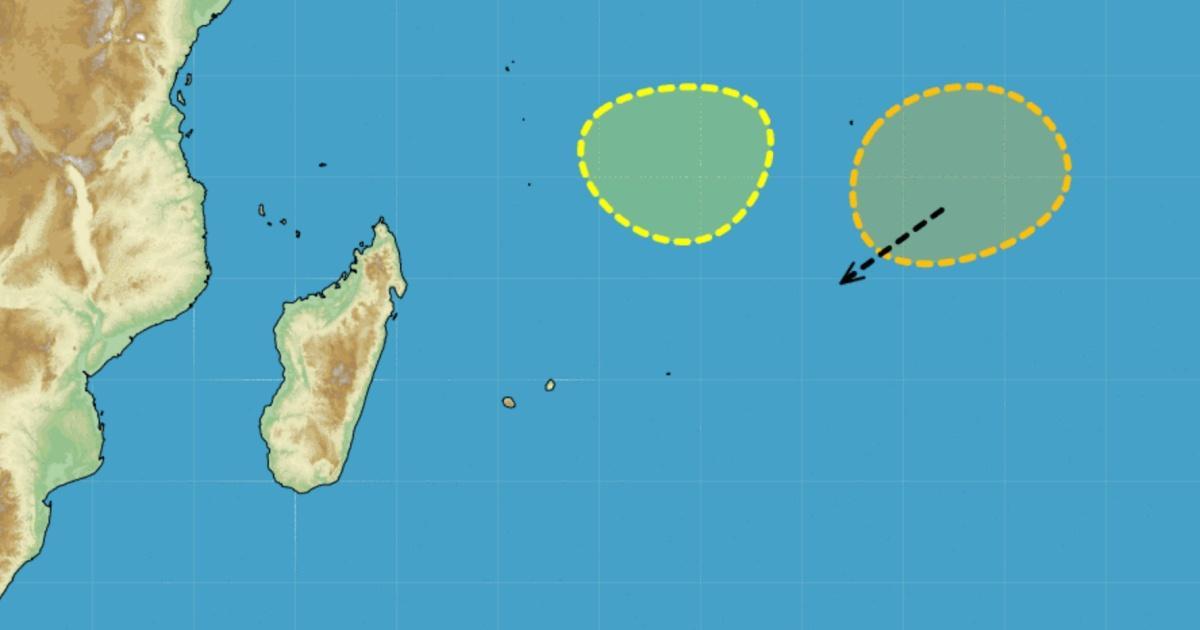 Risque cyclogene se ocean indien novembre 2020