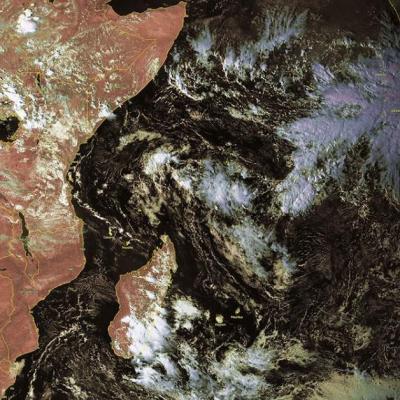 Risque cyclogenese dans ocean indien sud ouest