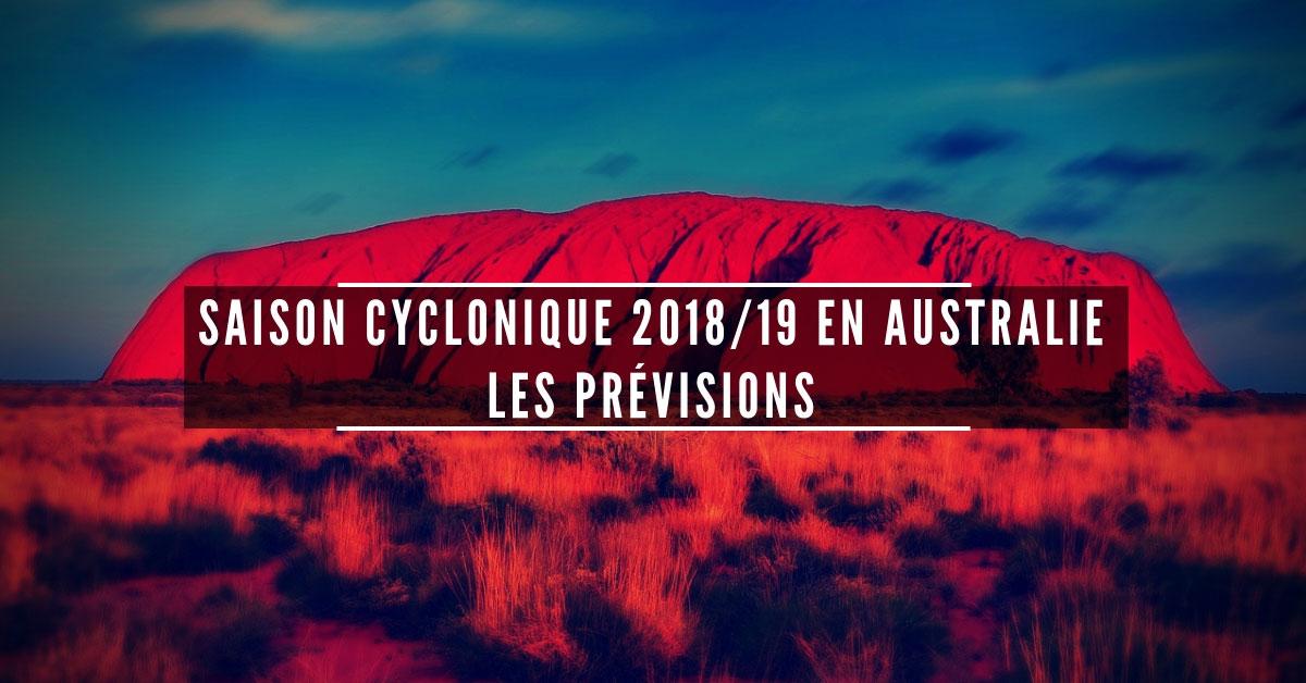 Saison cyclonique 20182019 australie