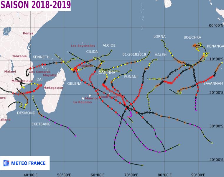 Saison cyclonique 20182019