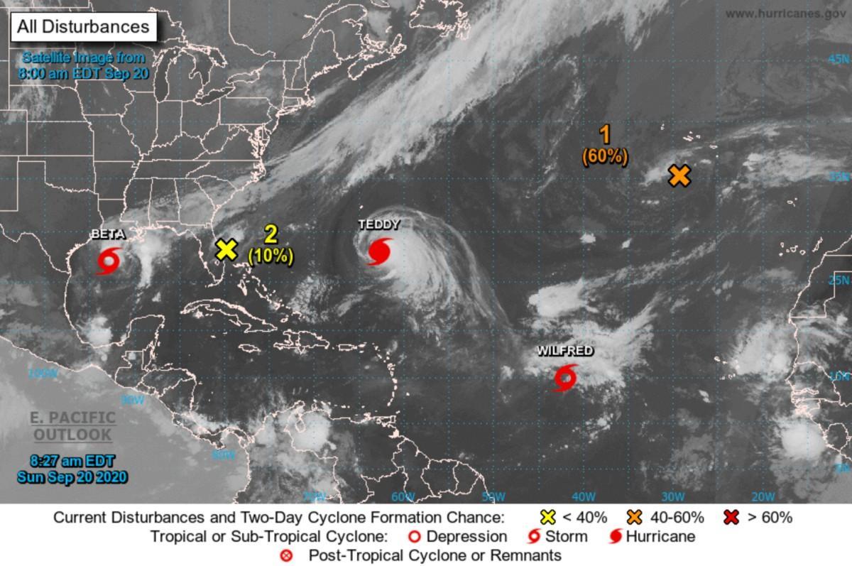 Saison des ouragans 2020 cyclone