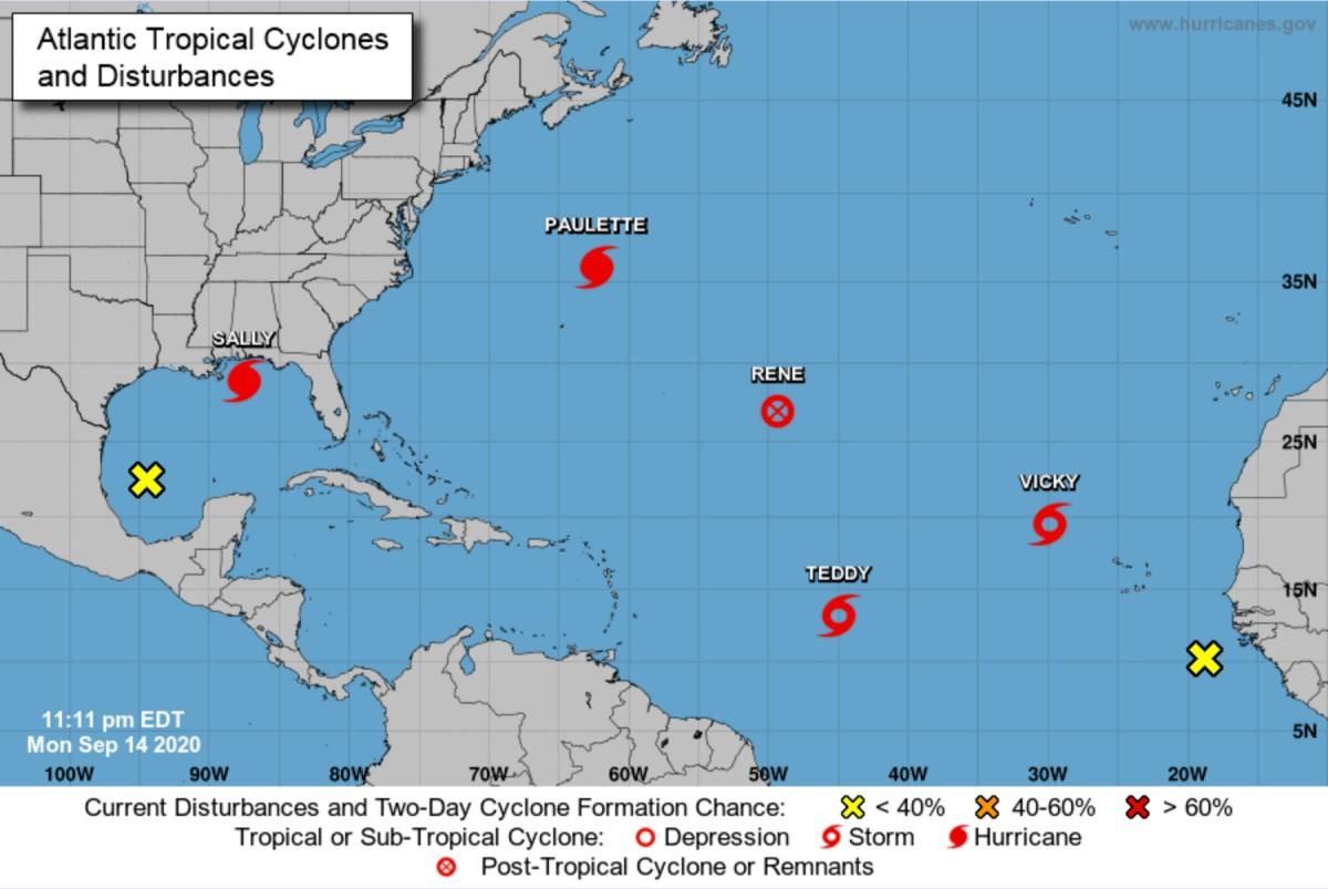 Saison des ouragans 2020