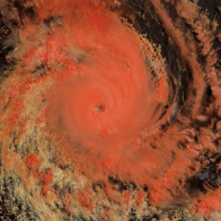 cyclone tropical intense Savannah