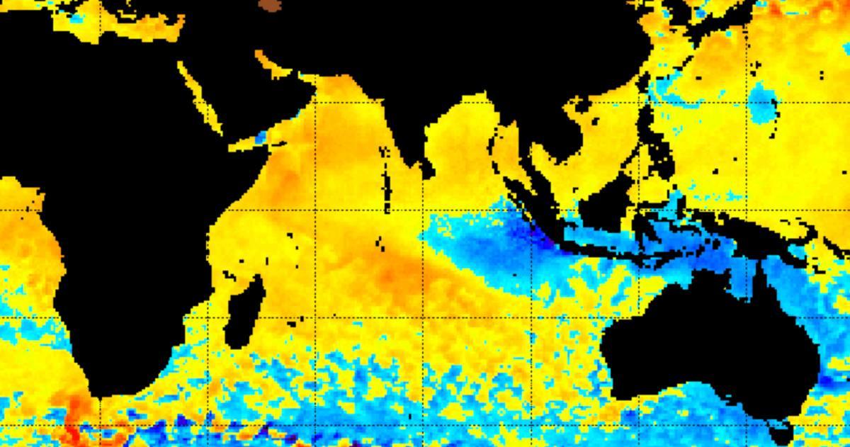 Sst ocean indien sud ouest