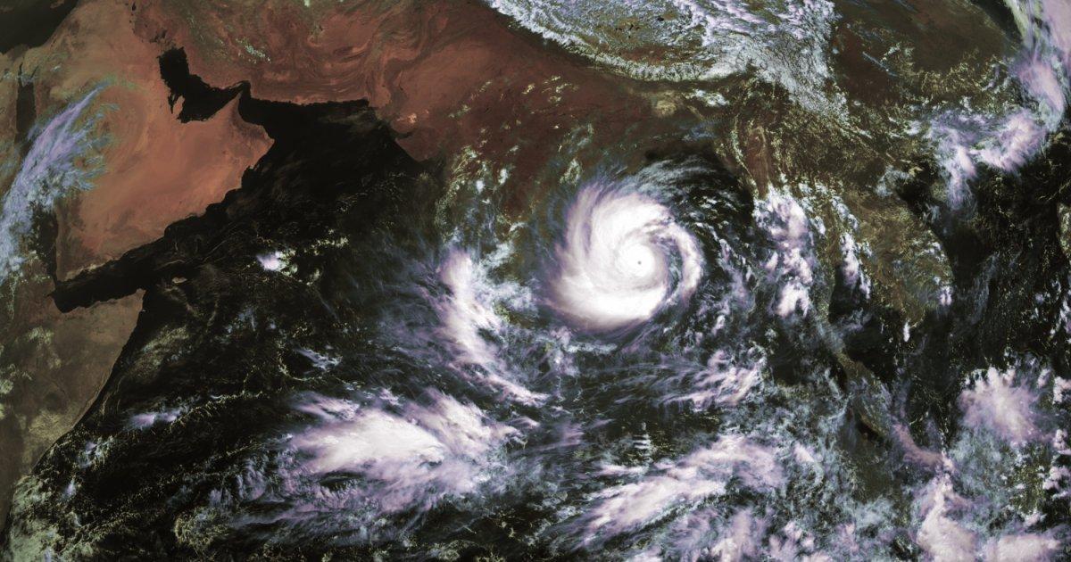 Super cyclone amphan india