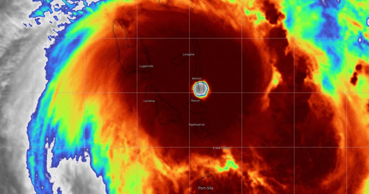 Super cyclone harold 1