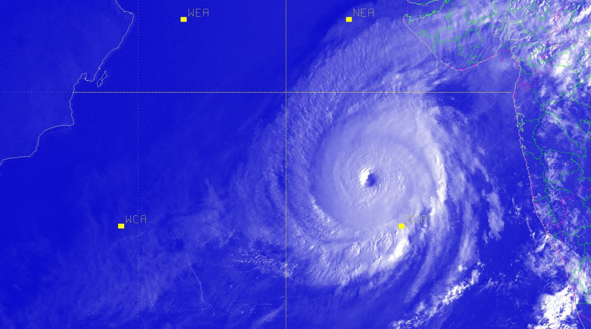 Super cyclonic storm kyarr