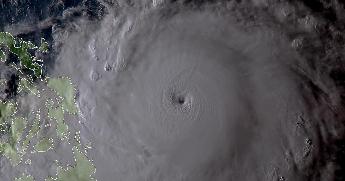 Surigae super typhon intense 2021