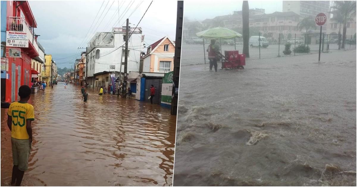 Tananarive inondation