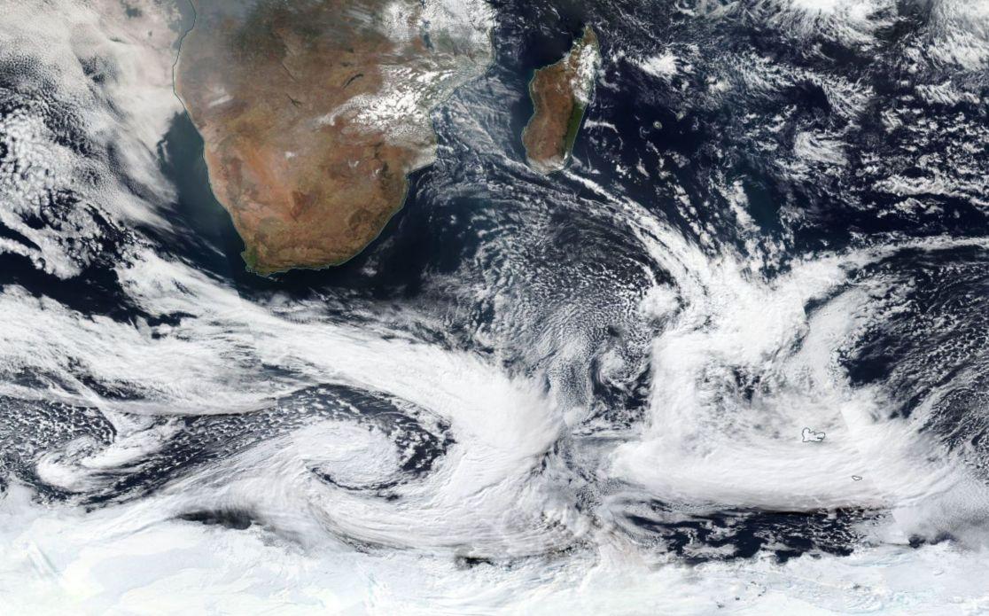 Tempete polaire australe