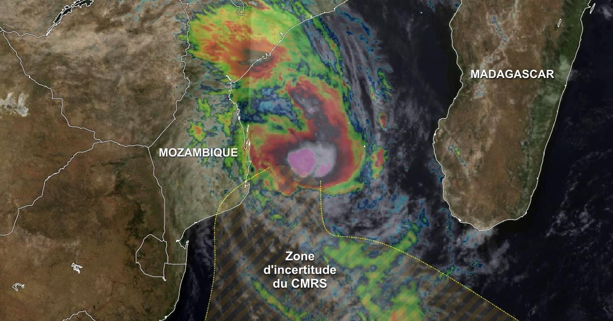 Tempete tropicale guambe