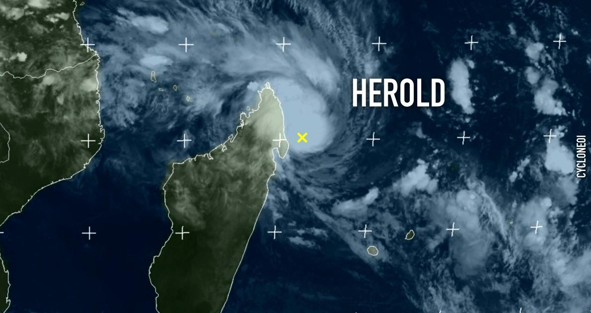 Tempete tropicale herold