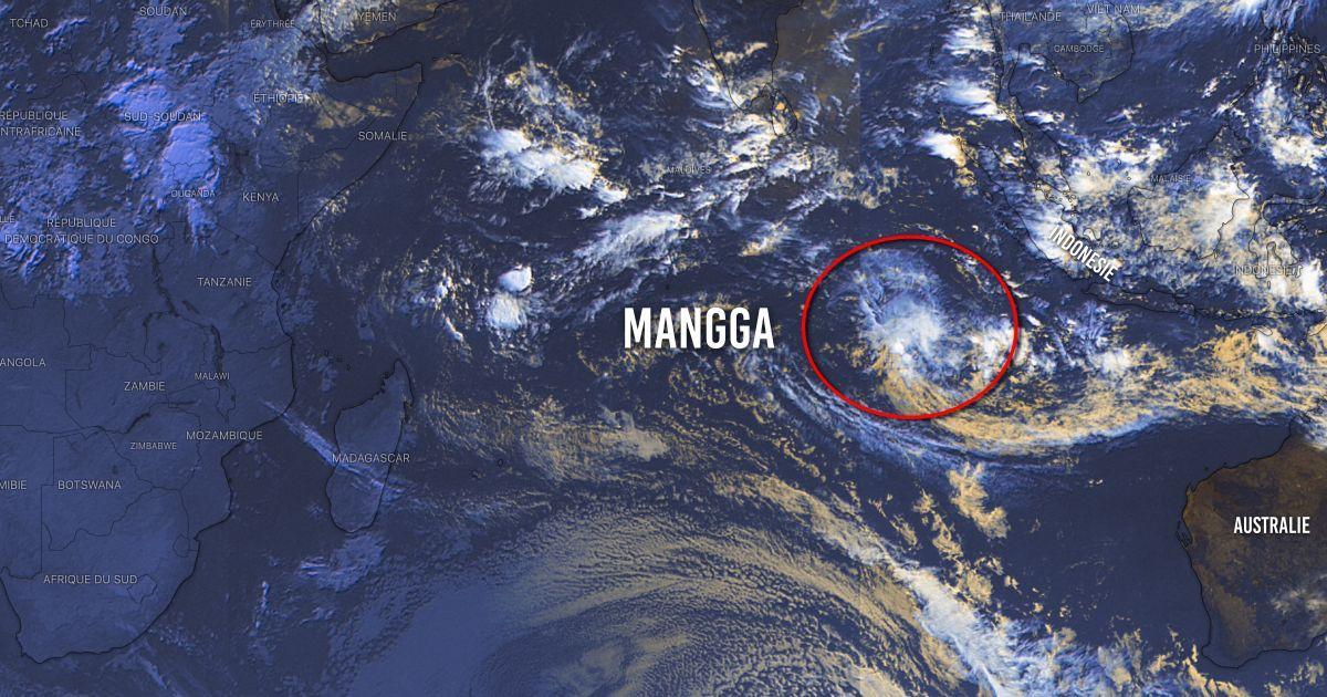 Tempete tropicale mangga