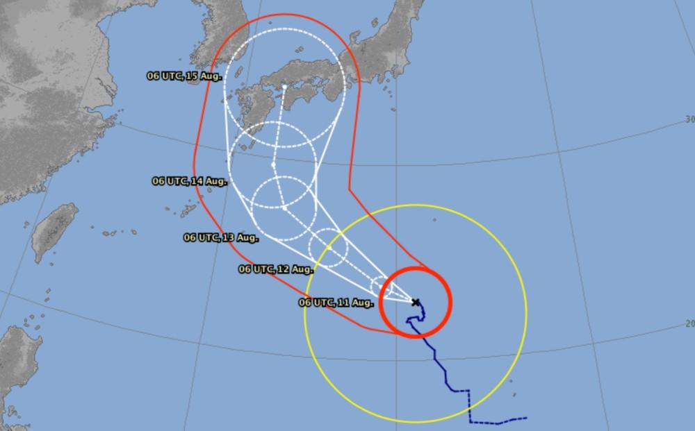 Track typhoon krosa