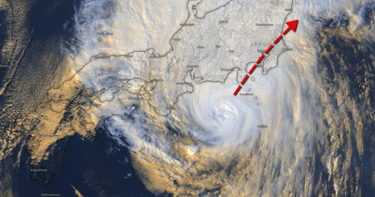 Track typhoon hagibis 1