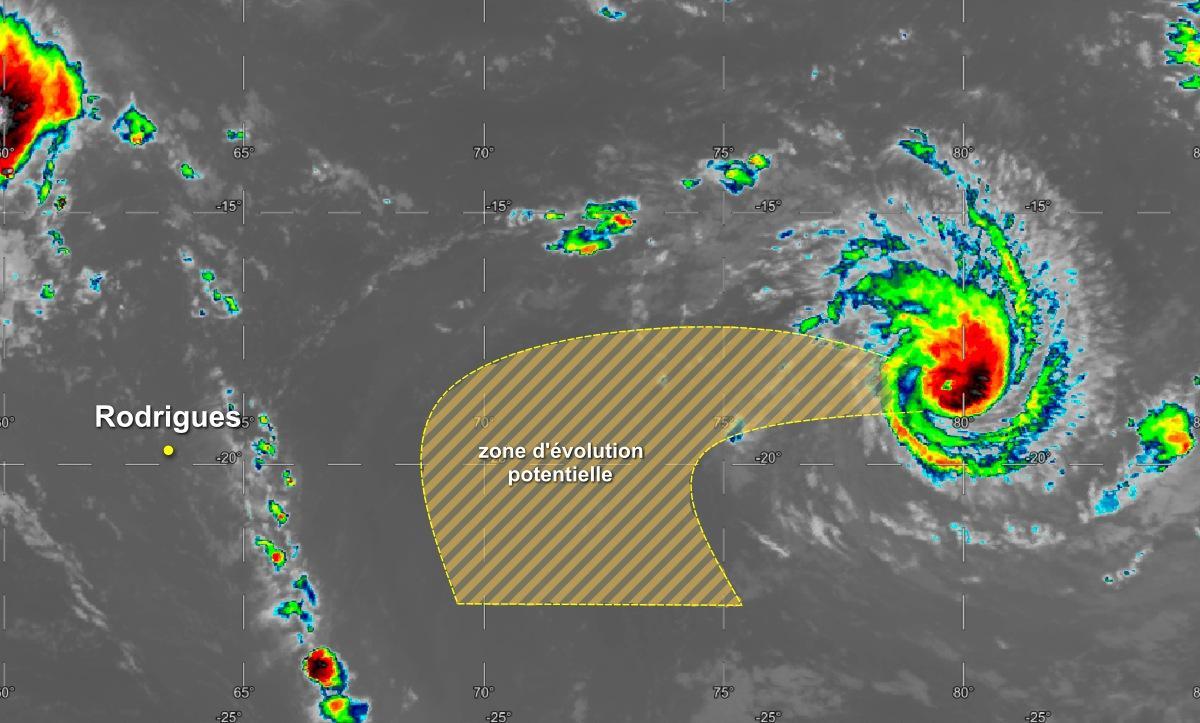Trajectoire cyclone habana