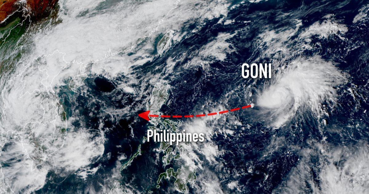 Typhon goni philippines
