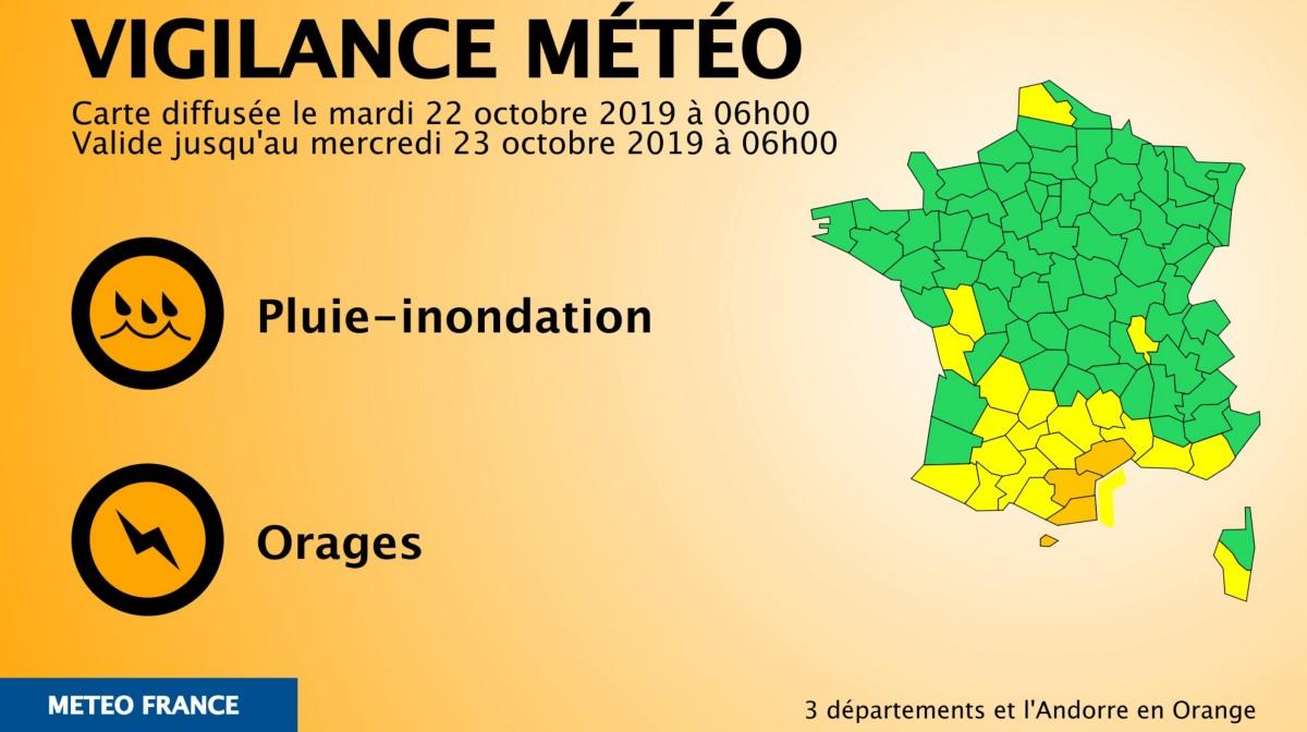 Vigilance meteo france