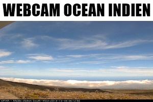 Webcam de l'océan indien