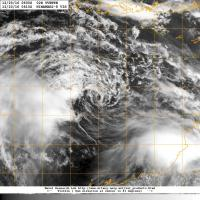Ex-Yvette visible image from 23th dec. at 0600 UTC (NRL)