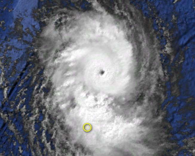 Cyclone Tropical Intense HELISAONINA