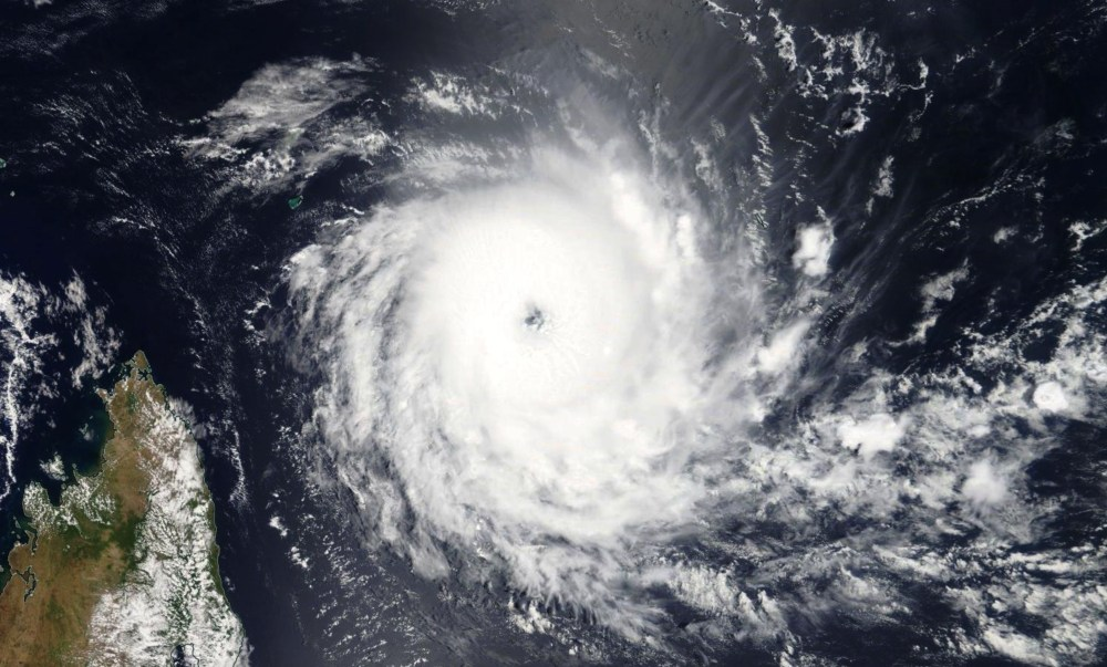 Cyclone Tropical Intense ALCIDE le 08/11/2018 TERRA