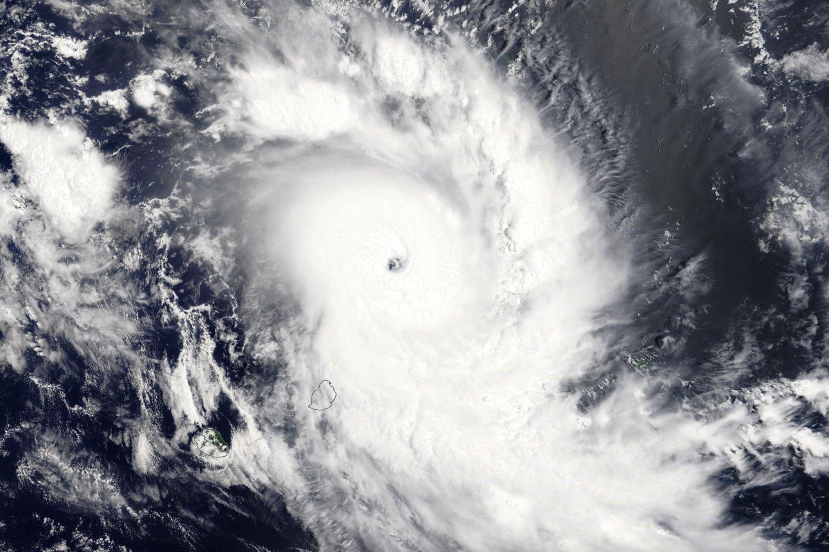 Cyclone Tropical Intense GELENA le 09/02/2019 TERRA