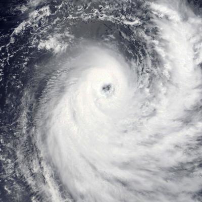 Cyclone Tropical IRVING le 08/01/2018 sat. TERRA