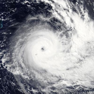 Cyclone Tropical Intense JOANINHA le 26/03/2019 TERRA