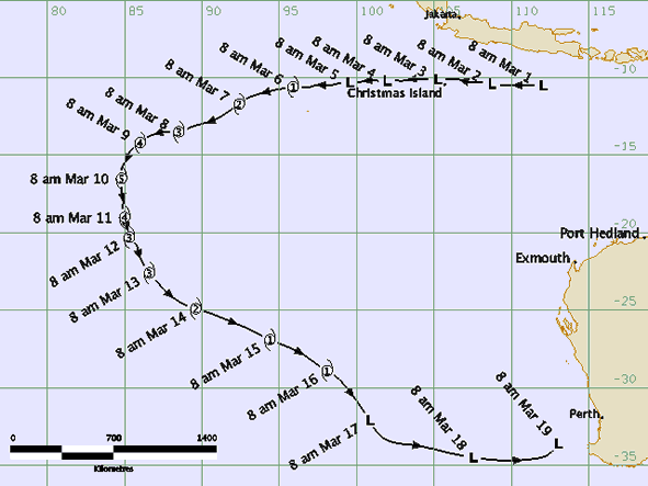 KIRSTY TRAJECTOIRE
