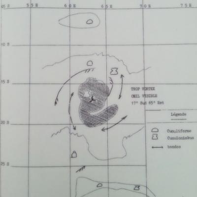 Cyclone DENISE 05 01 1966 0712utc