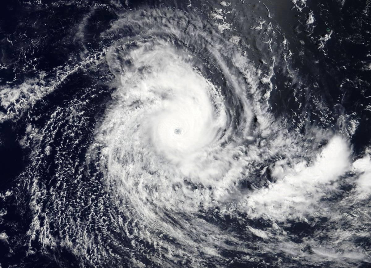 Cyclone Tropical Intense SAVANNAH le 17/03/2019 TERRA